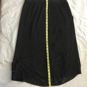 Vintage Moloko FRance striped stretch Grey Skirt